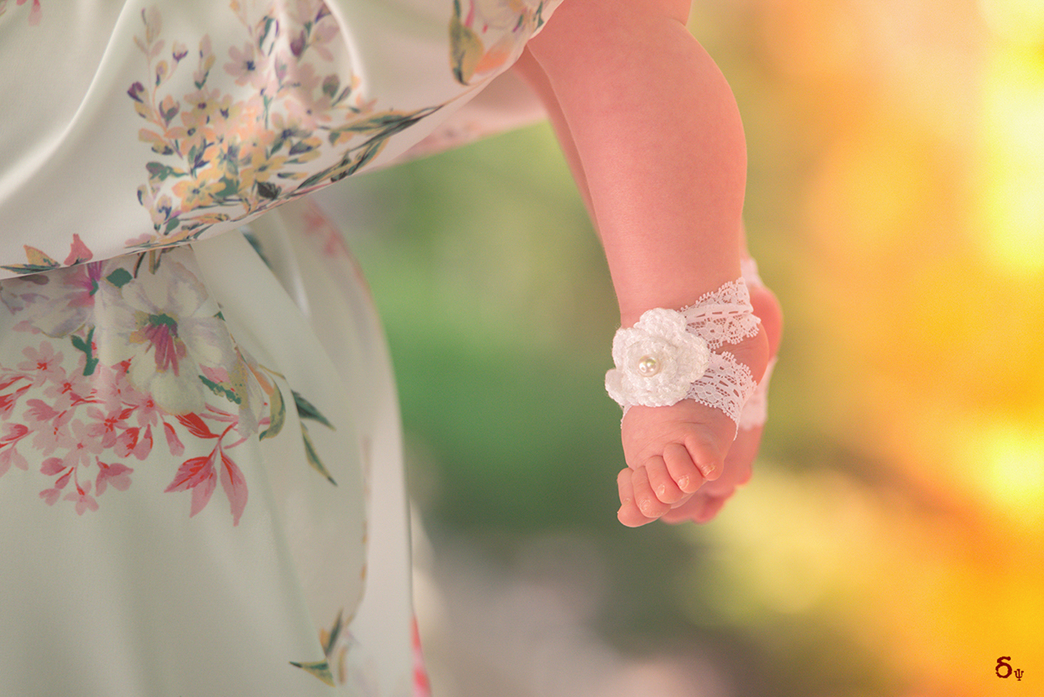 feet colors shoes ribbon Christening Photography
