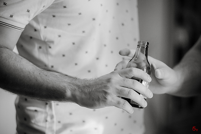 grooms beer bw black and white