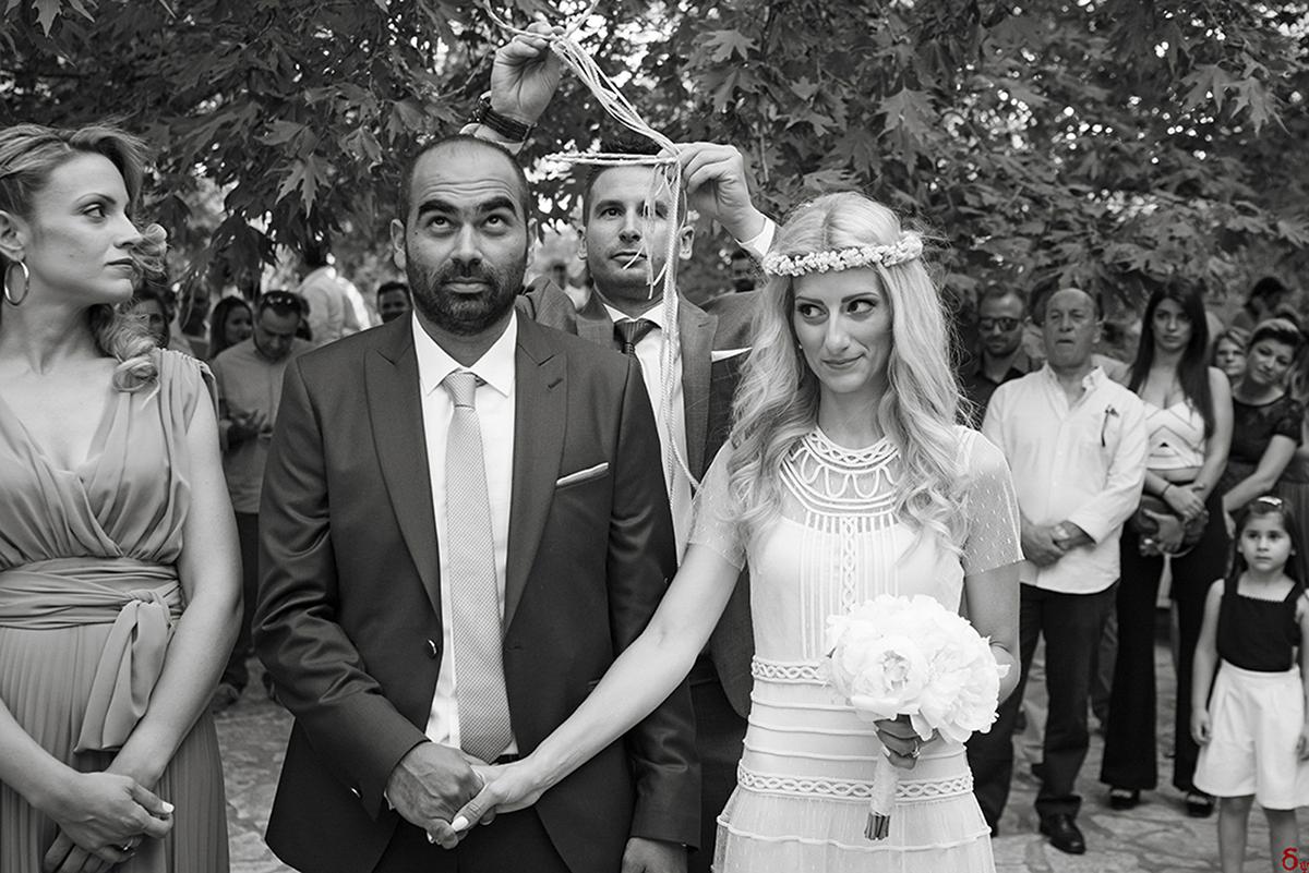 bw wedding in black and white wedding in Greece best wedding destination valentino dress γαμος στον Πορο γαμος σε νησι