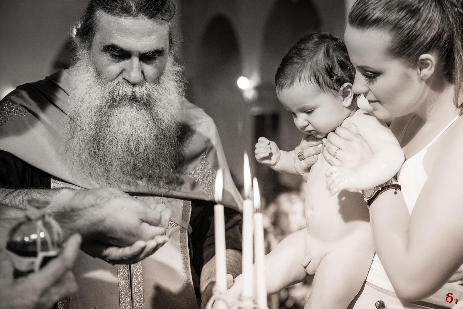 The everlasting warmth of God's love on this holy celebration Christening day black and white photographer baby boys christening