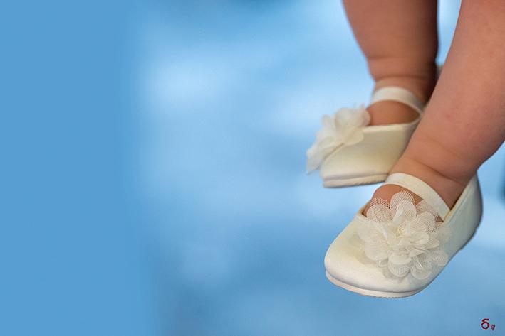 baptism shoes  girls baptism day  white baptism shoes christening day  feet  Christening Photography