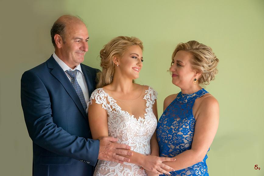 wedding day brides preparation family wedding wedding dress classy wedding blue dress