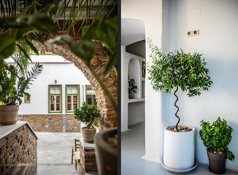 porto Klaras Kythnos vacation in Greece hotel
