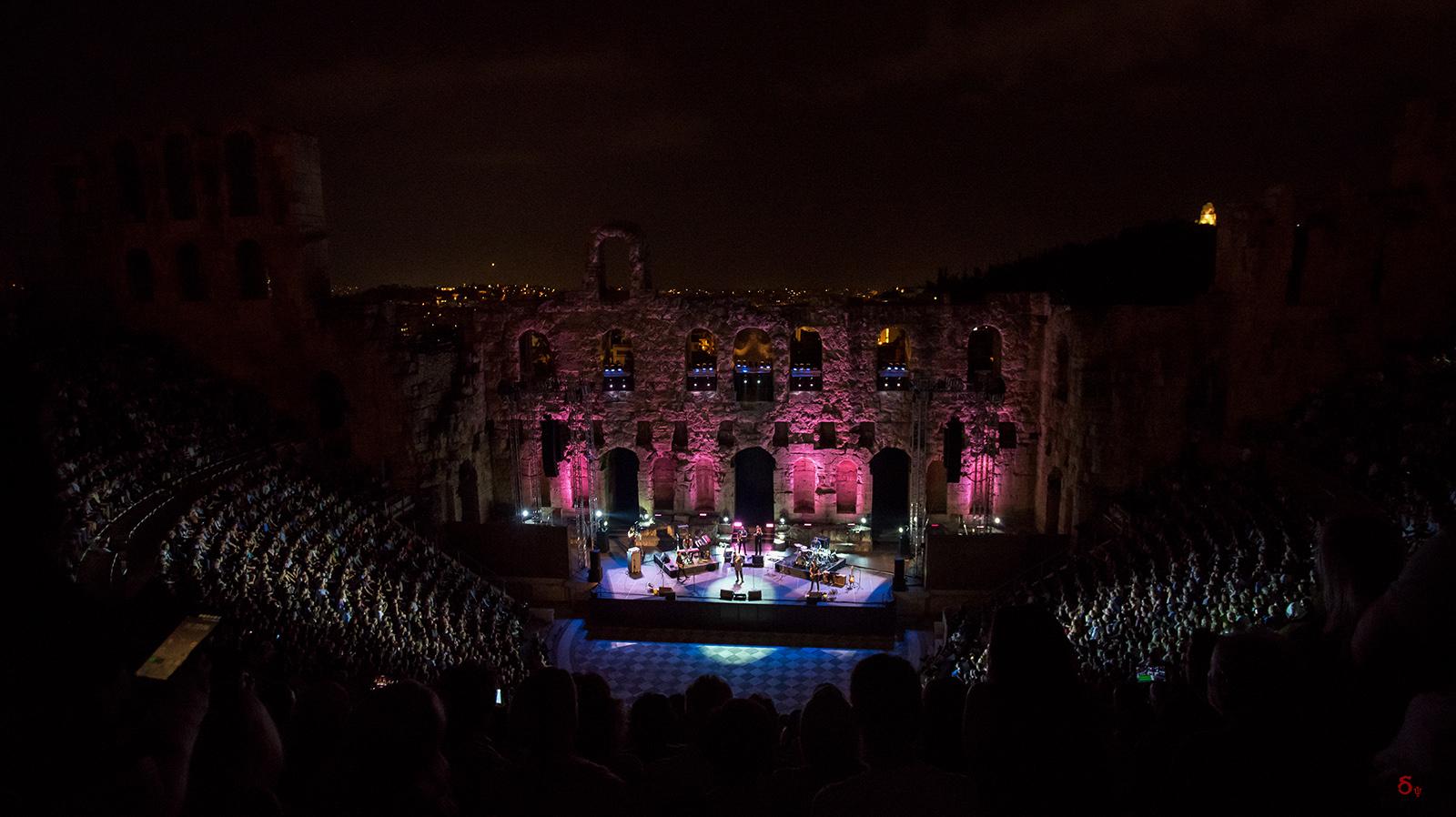 ERIC BURDON Athens Concert 2019 Herodeion