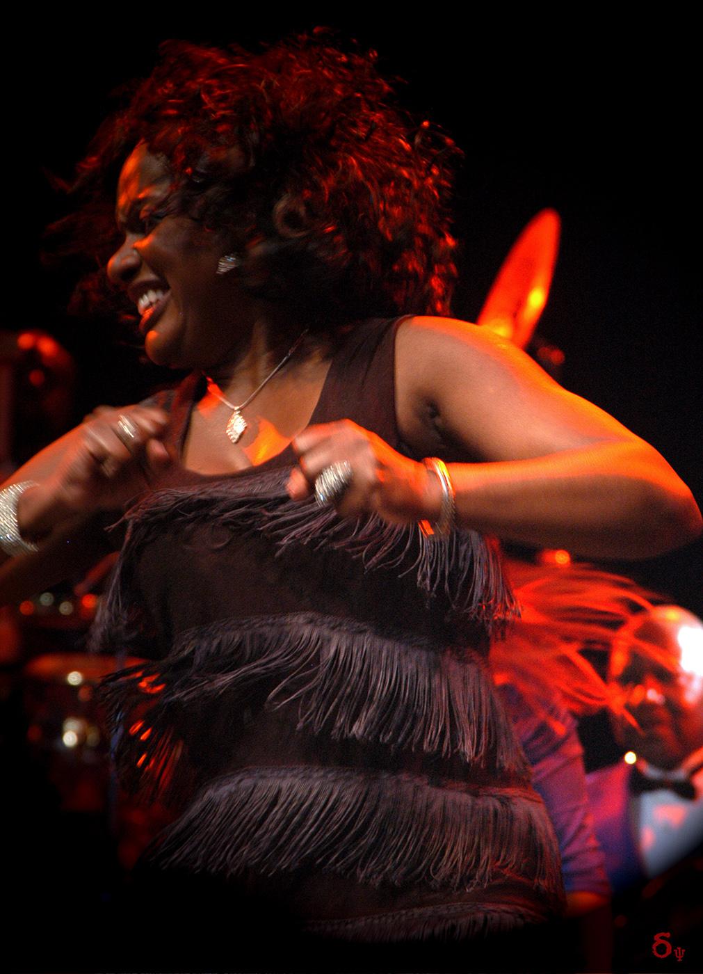 James Brown live concert 2006