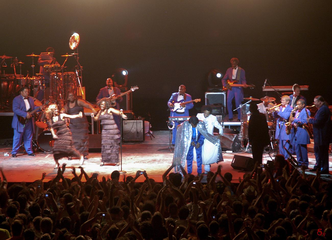 James Brown live concert 2006 at Lycabettus Athens