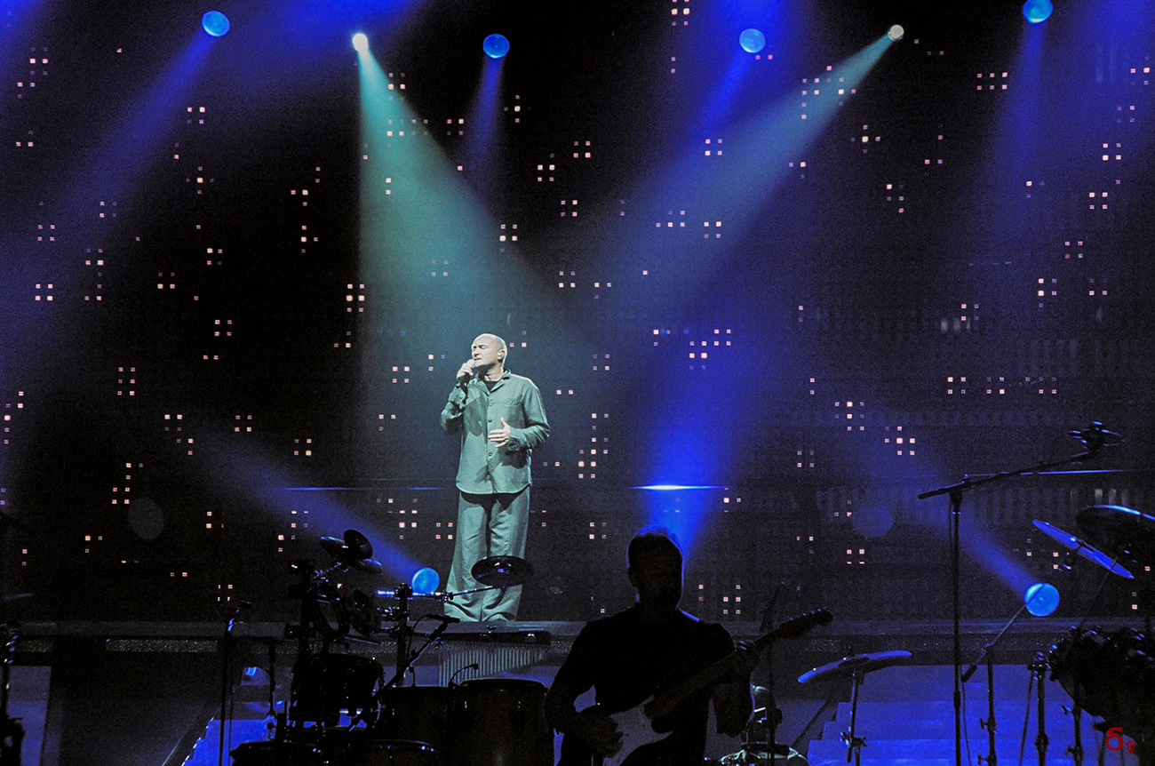 Phill Collins  live concert 2009
